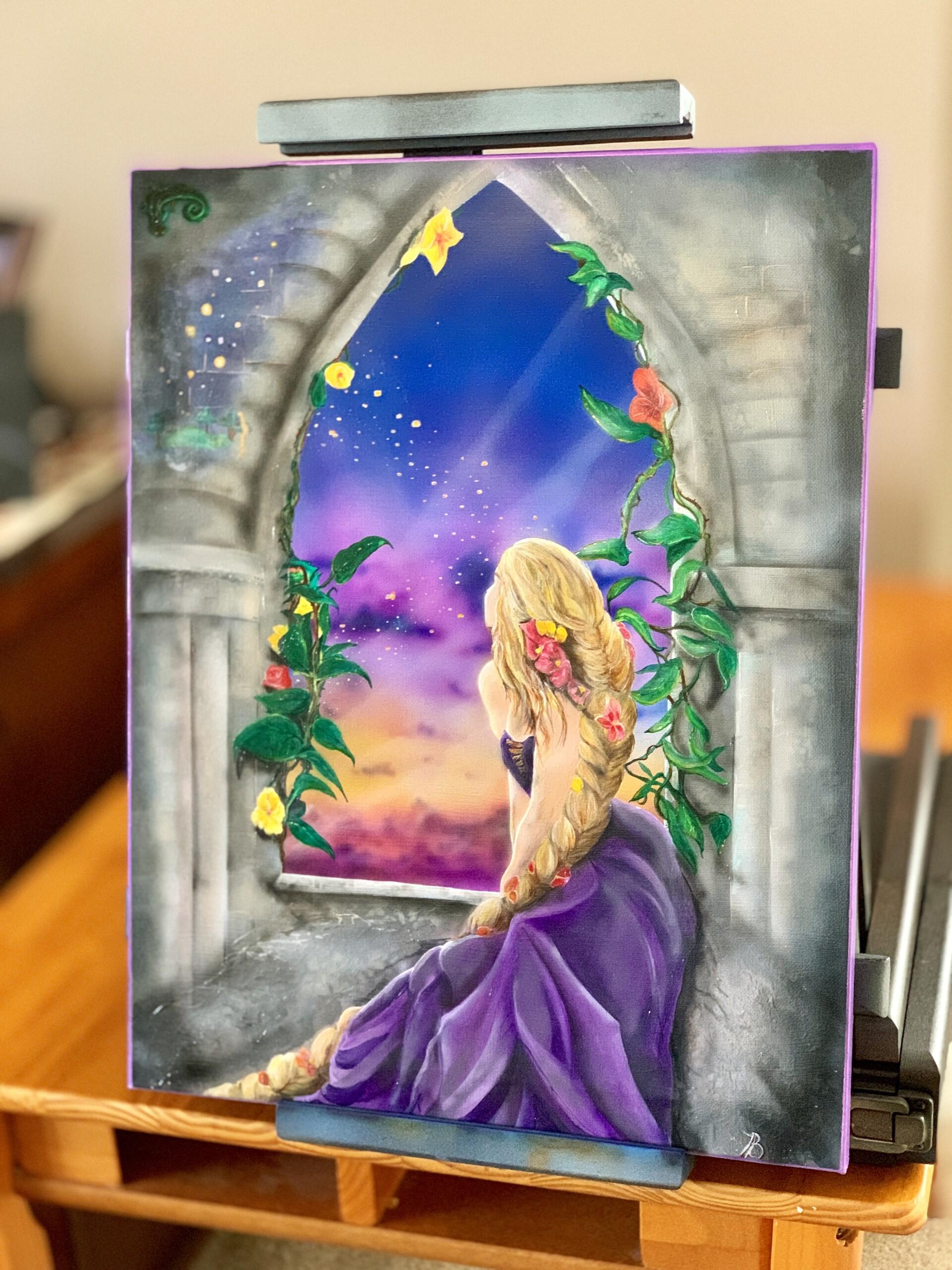 Artstation Rapunzel Ronin 13