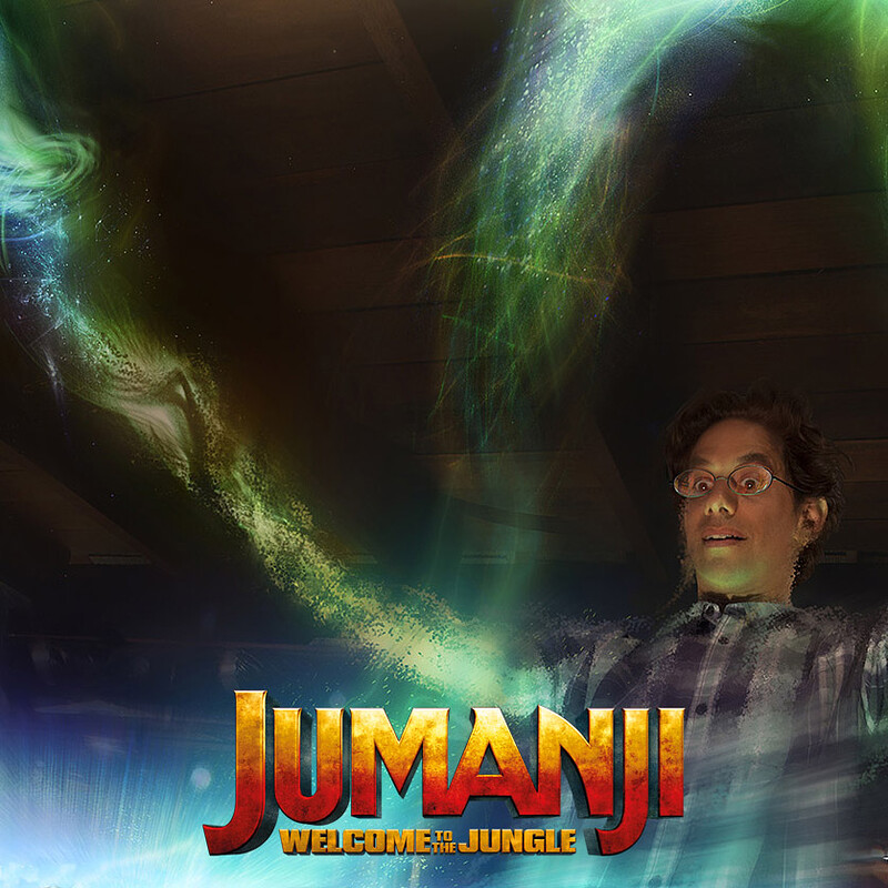 Jumanji: Welcome to the Jungle - concepts