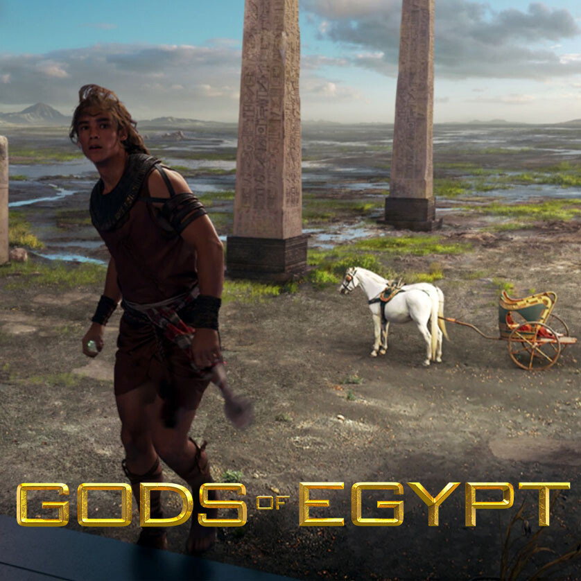 Gods Of Egypt | matte paintings