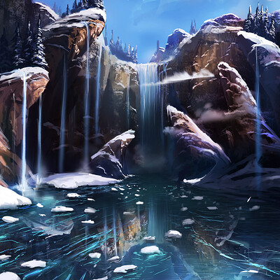 Maciej ptasinski waterfall