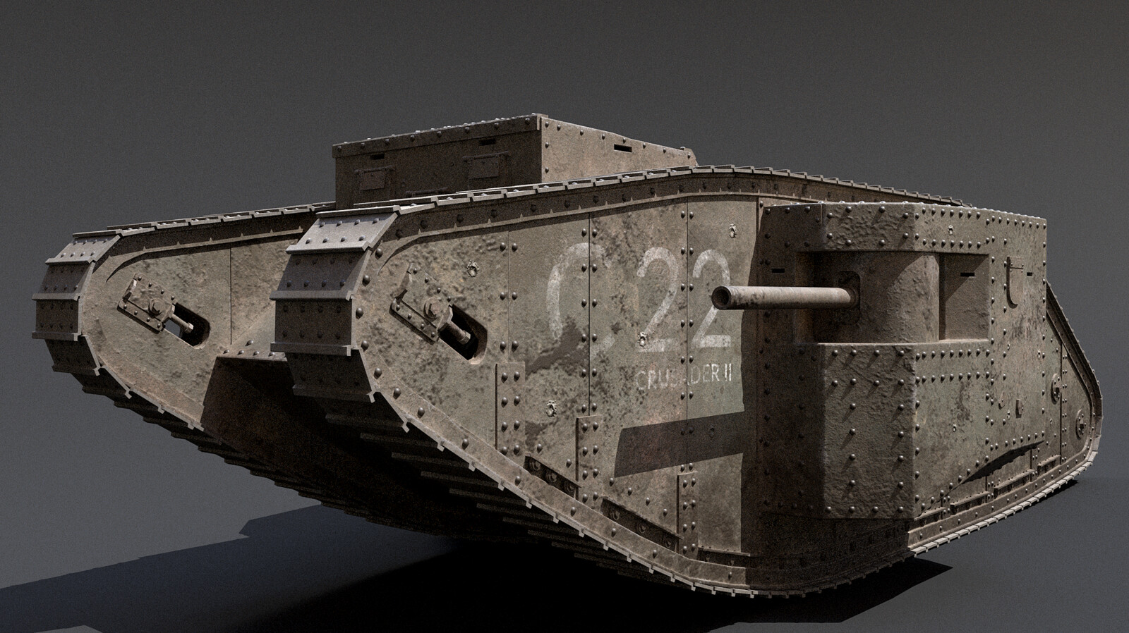 British Mk1 Tank