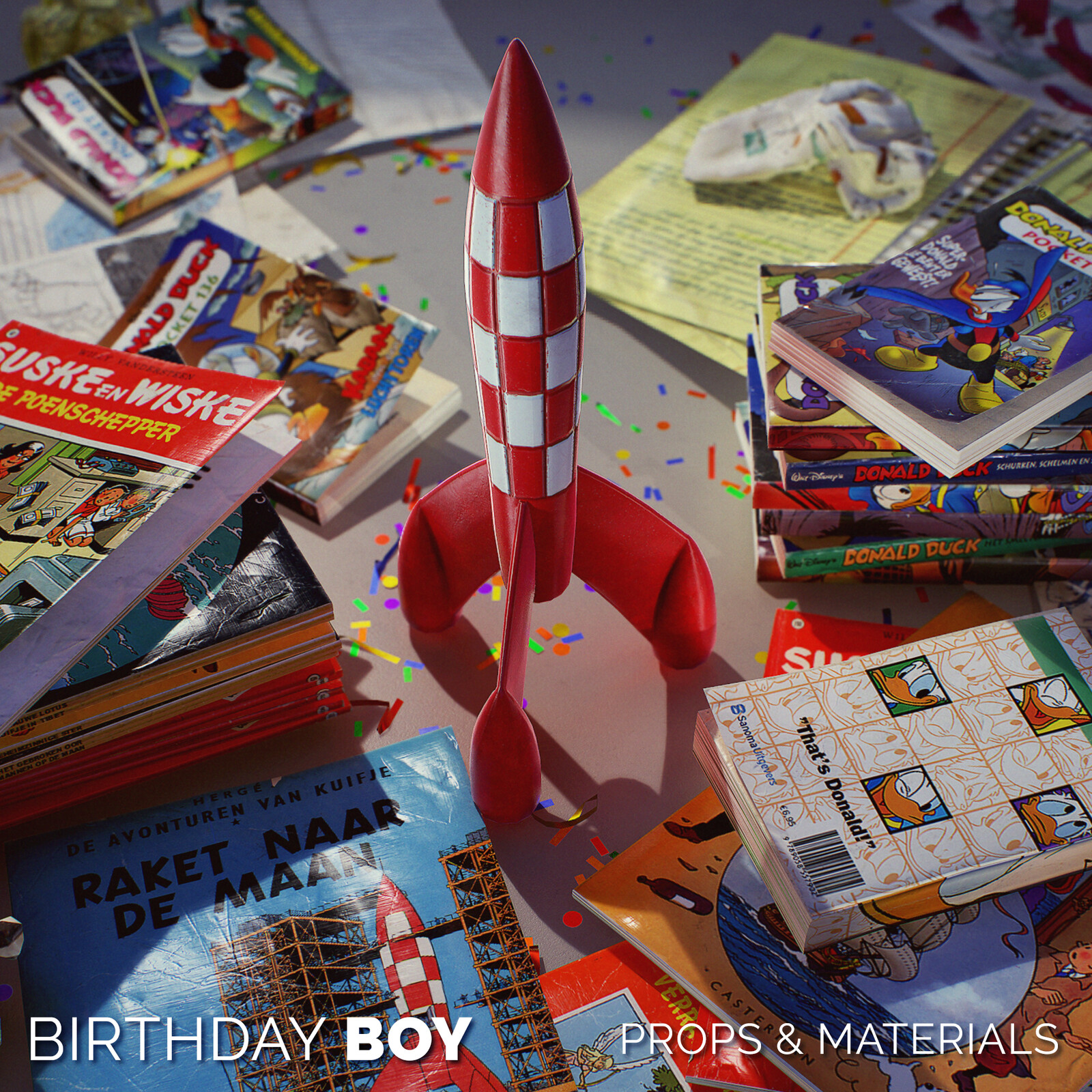 Birthday Boy - Props and materials