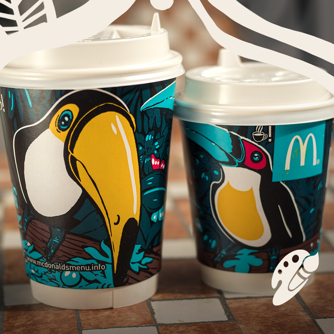 McDonalds cup design