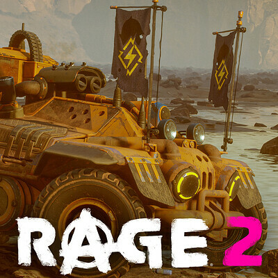 Devastator vehicle - Rage 2