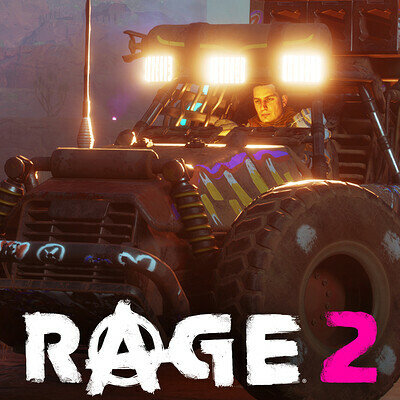 Rolla Vehicle - Rage 2