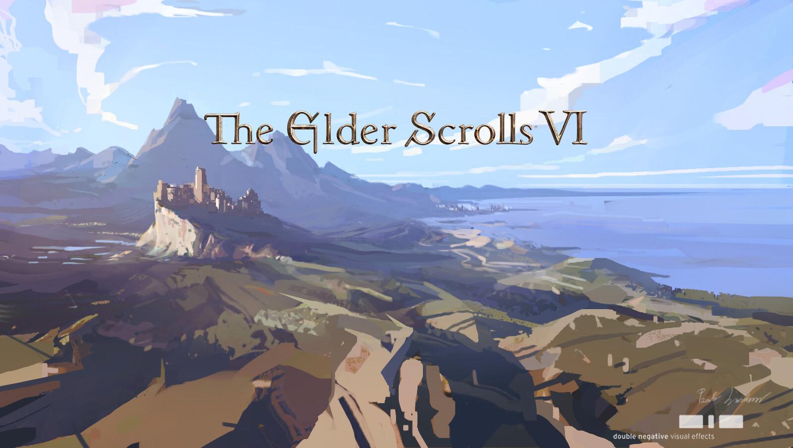 """""""Elder Scroll VI: Teaser Trailer"""", Environment Design"""