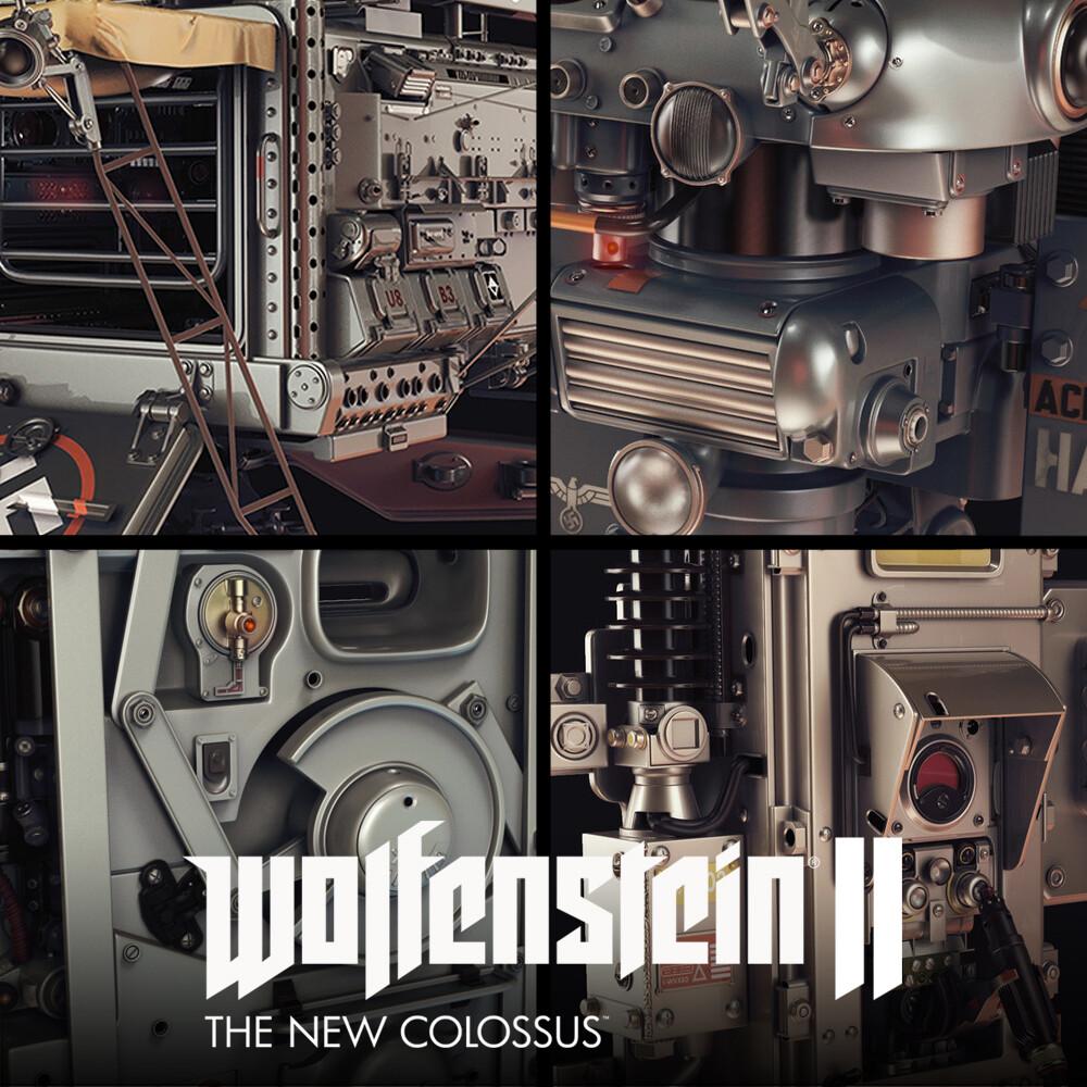 Wolfenstein II: Assets