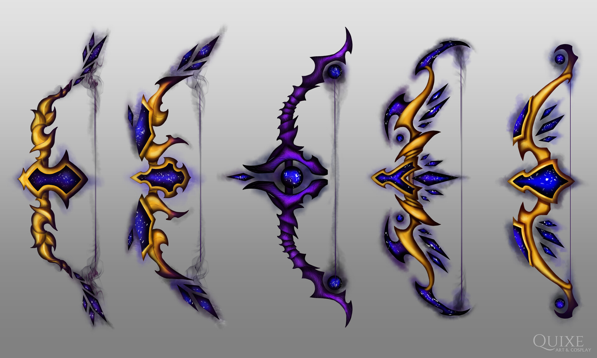 Artstation Void Elf Bow World Of Warcraft Murat Bayer Duskwatch adjudicator's chestplate/ breastplate of kel'balor tabard: artstation void elf bow world of