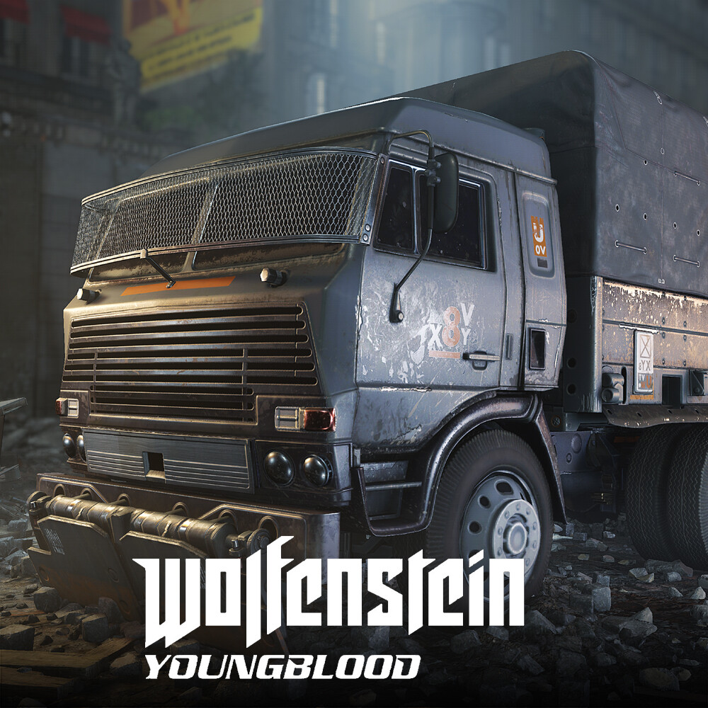 Wolfenstein: Youngblood - Trucks