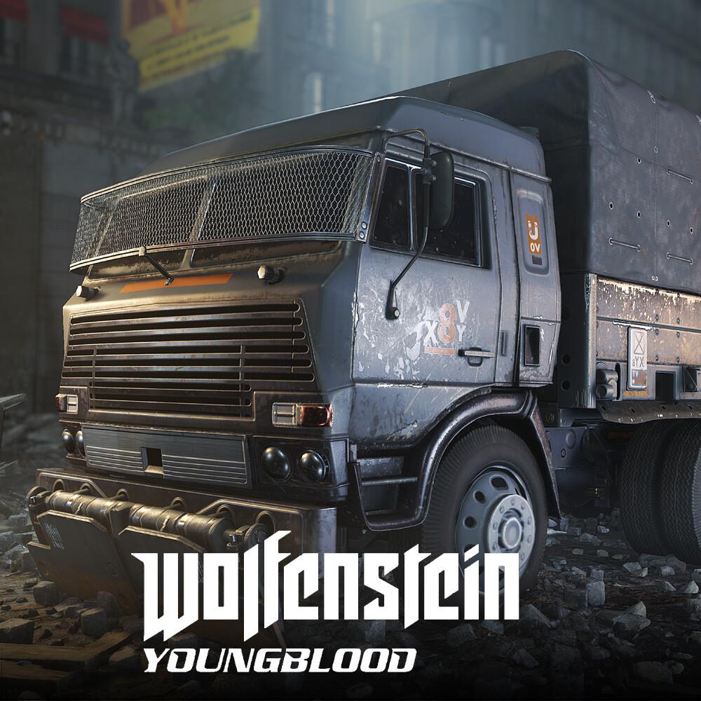 Wolfenstein: Youngblood - Trucks