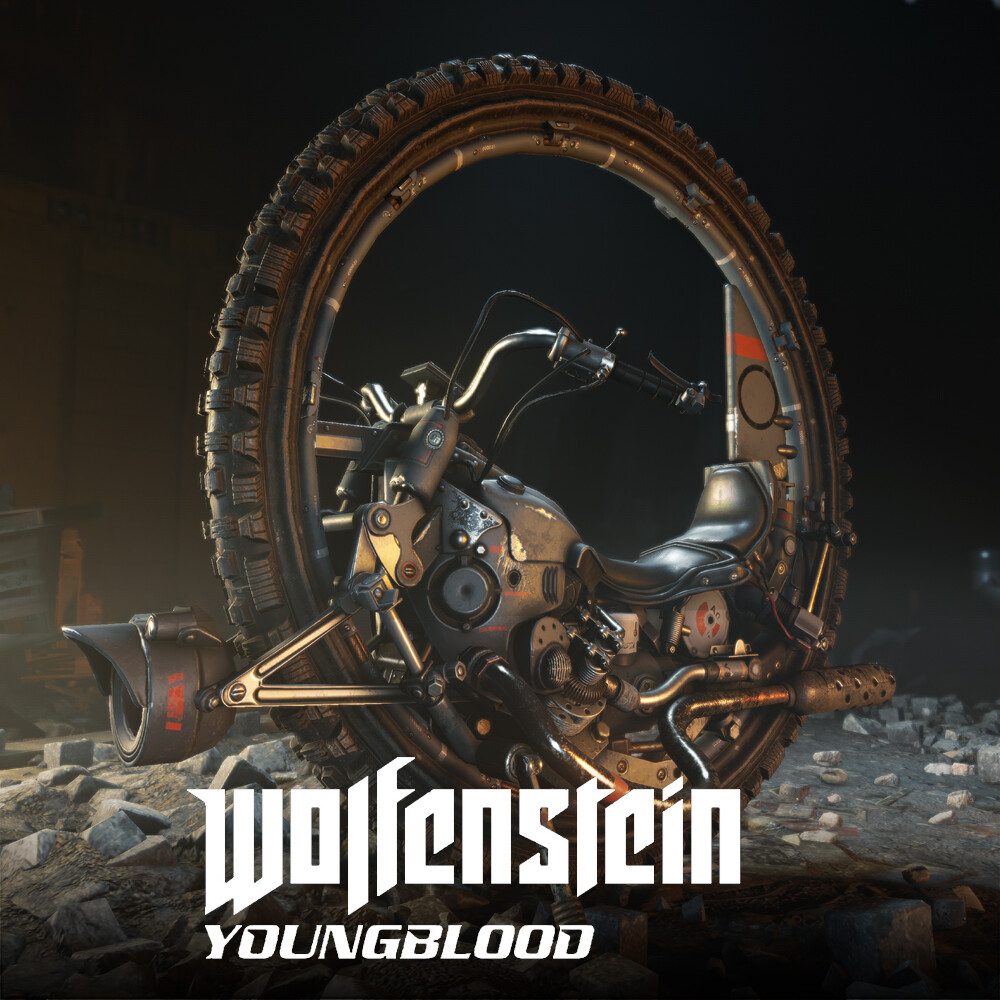 Wolfenstein: Youngblood - Monowheel