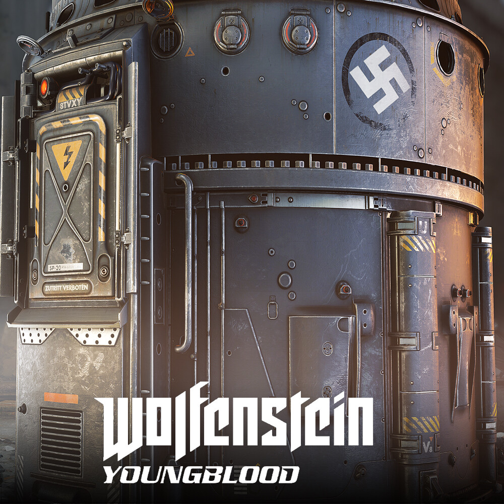Wolfenstein: Youngblood - DroneTower
