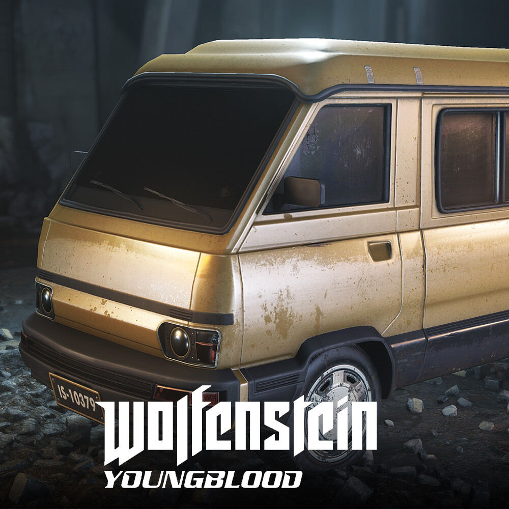 Wolfenstein: Youngblood - Civilian cars