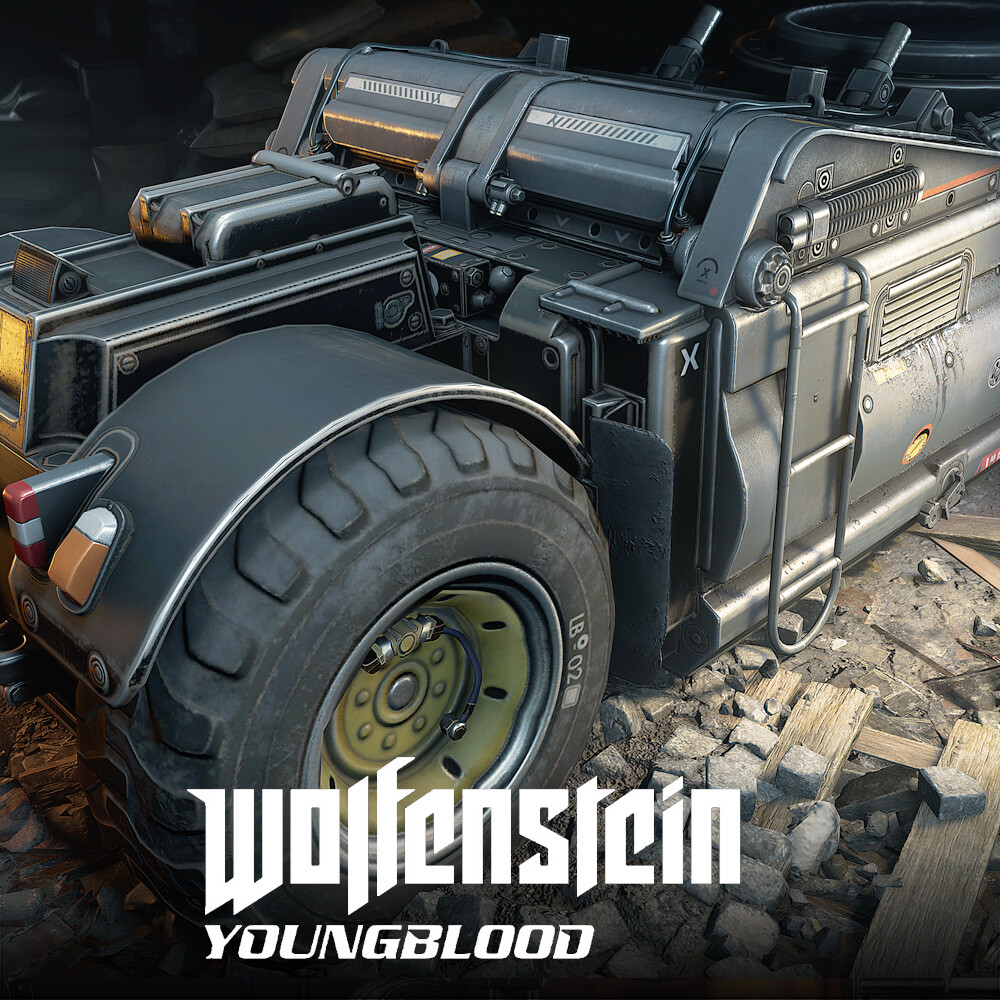 Wolfenstein: Youngblood - Welder