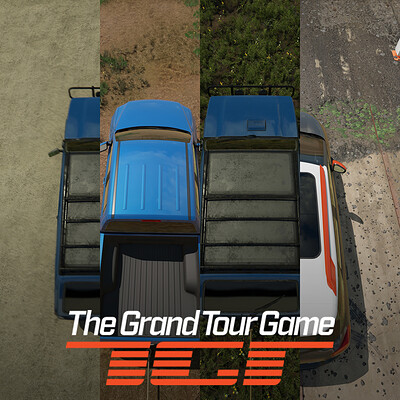 The Grand Tour Game - Towing Challenge Environments