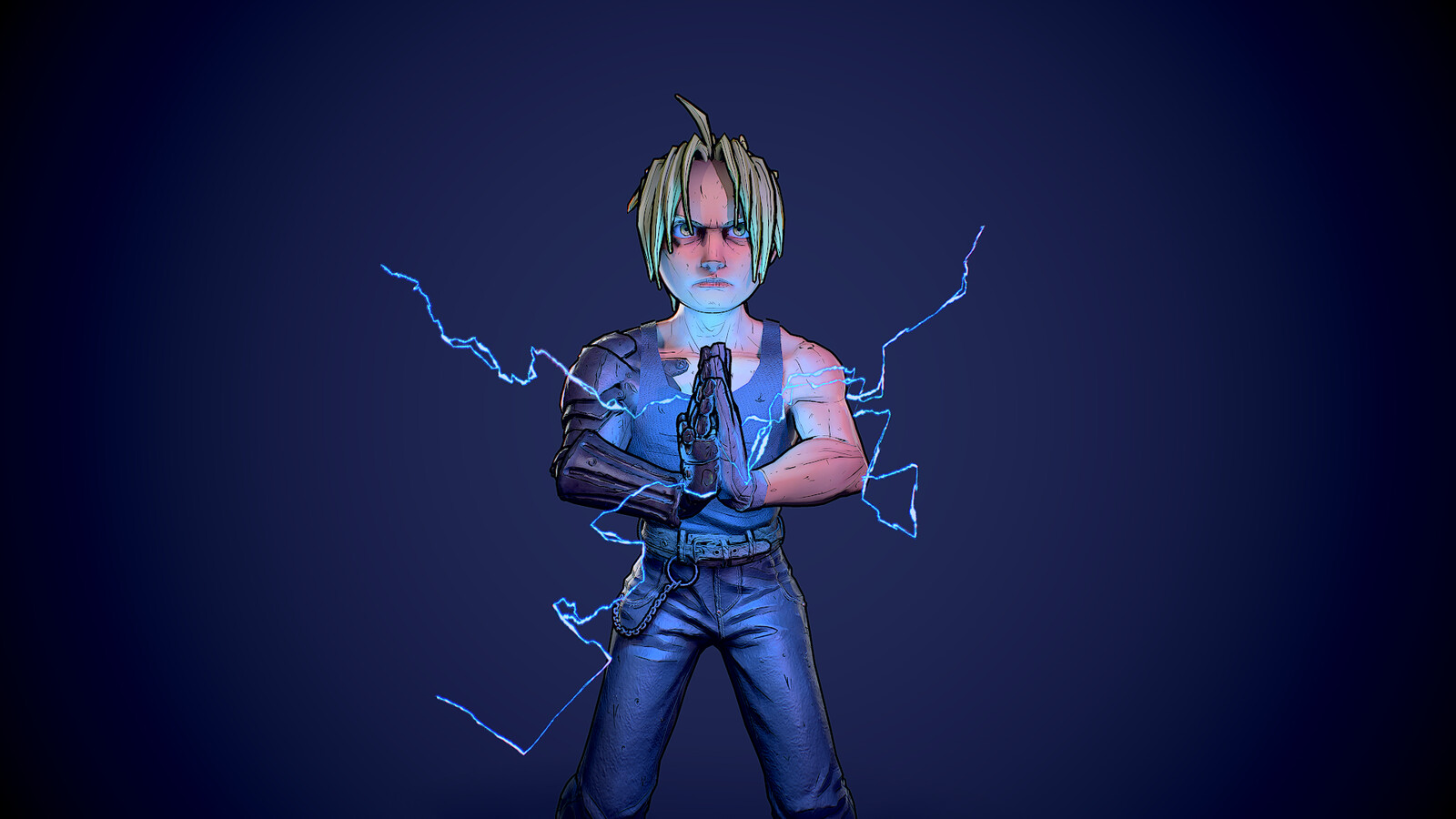 Edward Elric 3D Model