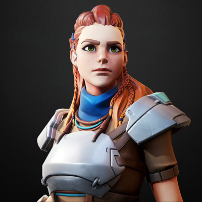 Aloy - Overwatch Fan Art