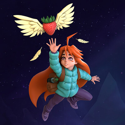 Madeline - Celeste Fan Art