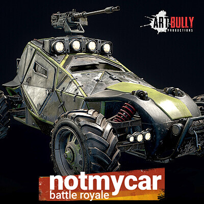 Not My Car: Armored Buggy w/ 50 Caliber Machine Gun