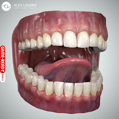 Alex lashko teethtongueset gen2 by alexlashko 00