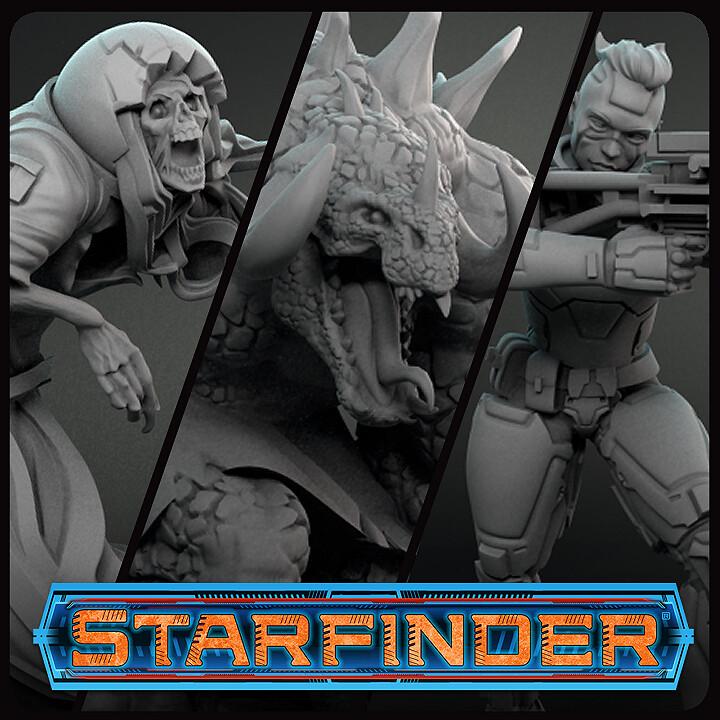 Starfinder Miniature pack