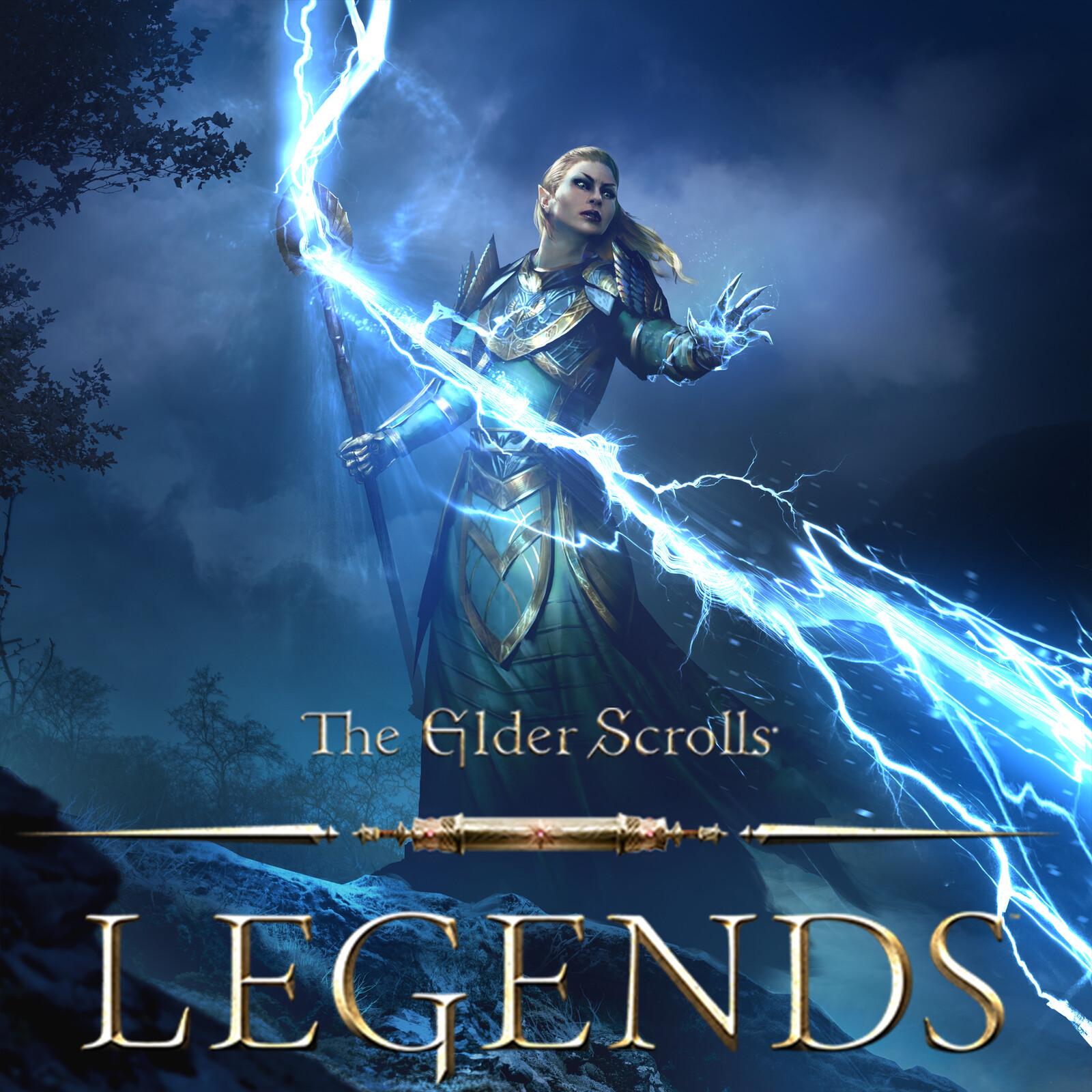 Forked Bolt - The Elder Scrolls: Legends