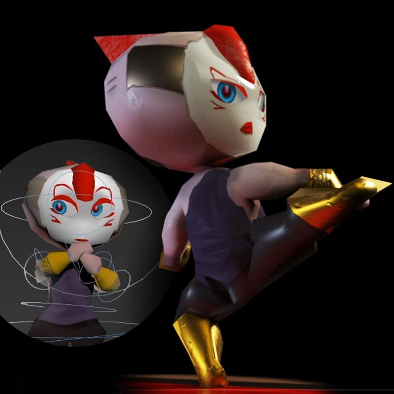 Personal practice - Robot Girl