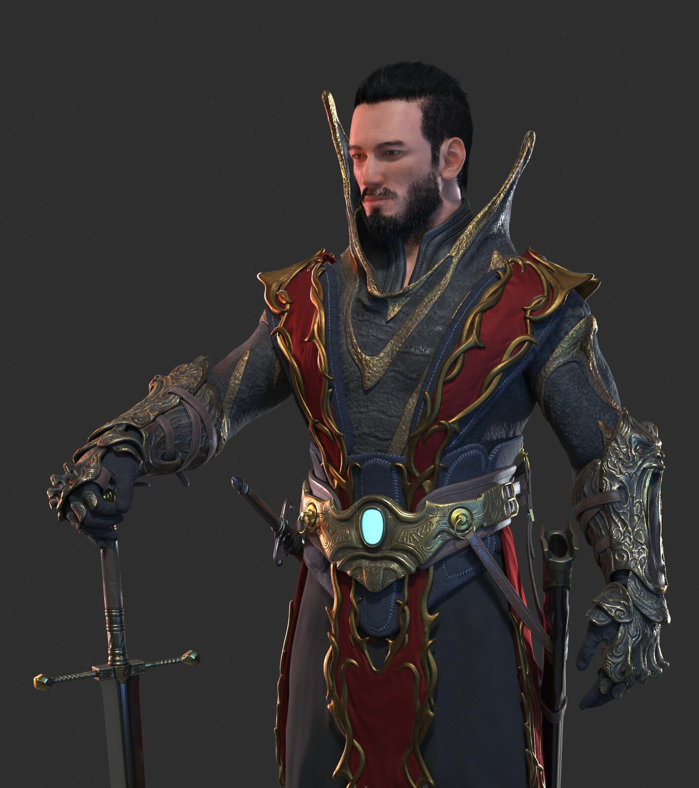 The Legend of King Arthur - Film/VFX Character Art