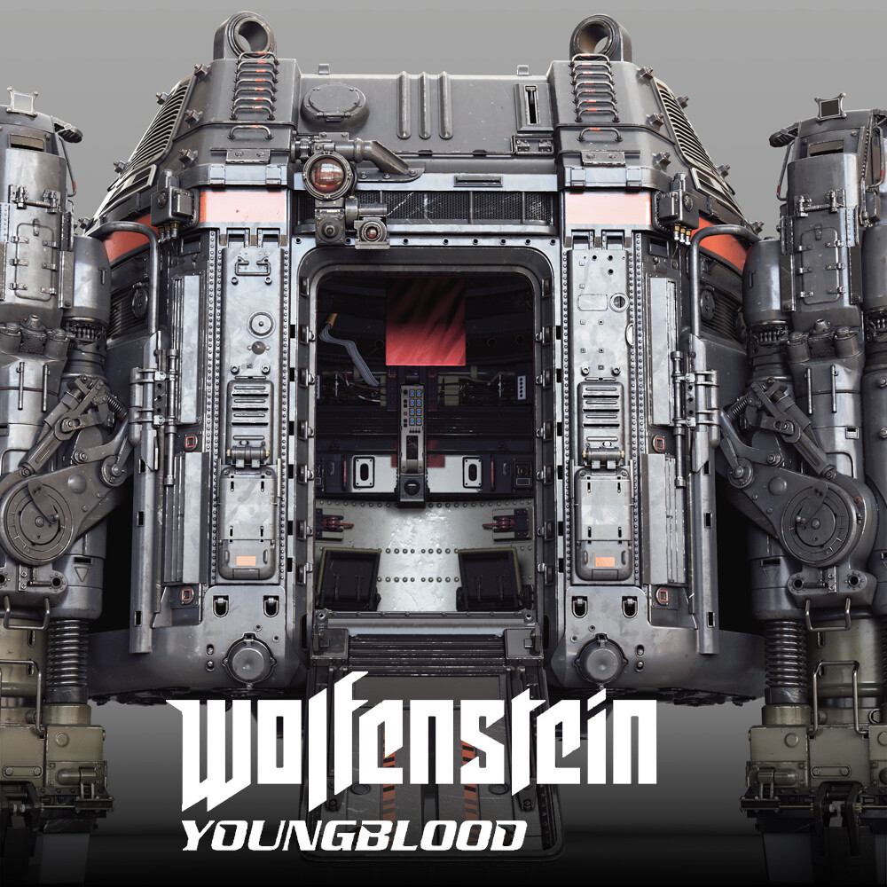 Wolfenstein: Youngblood - DropTower HighPoly