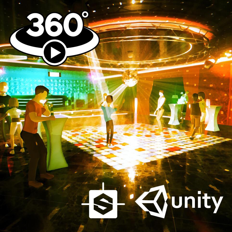 Making of Lin Pesto's 360° Music Video