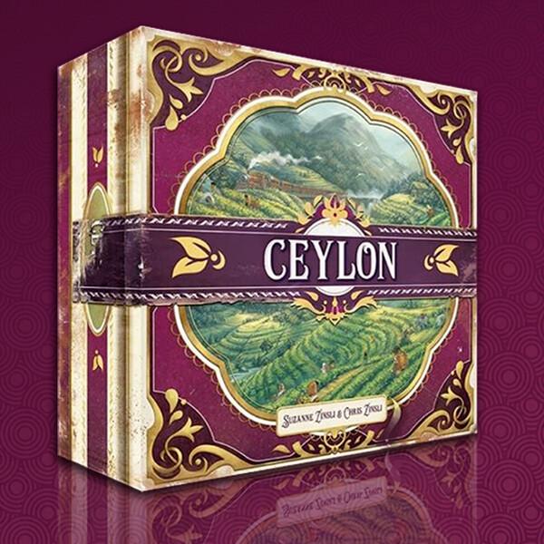 Ceylon - Board Game Art