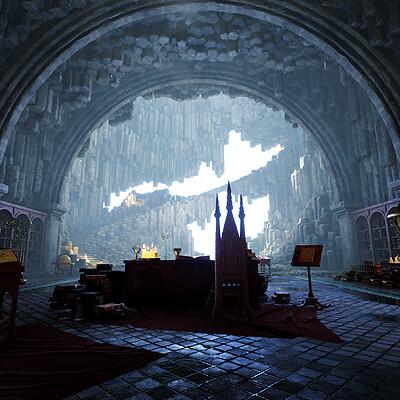 Merlin's Cave - The Legend of King Arthur Artstation Challenge (2019)