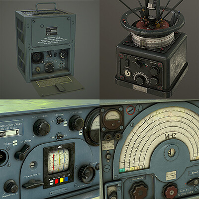 Radios for Our Ghosts Of War