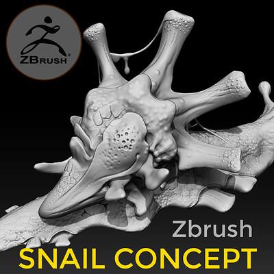 Igor puskaric artstation frame ancient snail