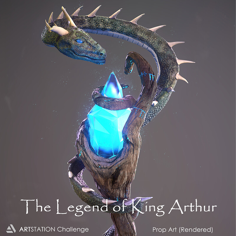 The Legend of King Arthur Challenge - Prop Art Submission