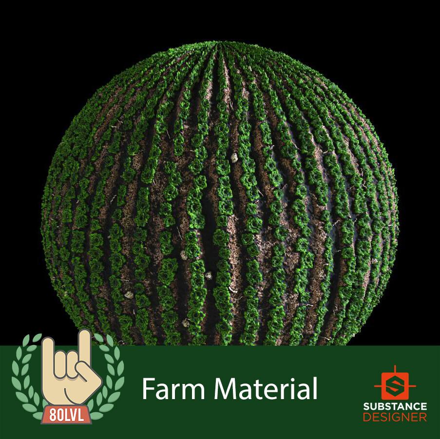 Farm Material - 100% Substance Designer