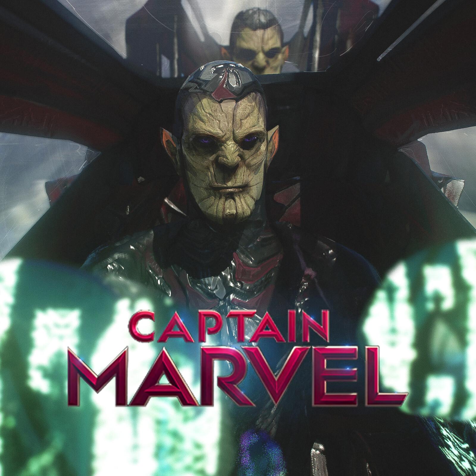 Captain Marvel Unused Keyframe for the Skrulls