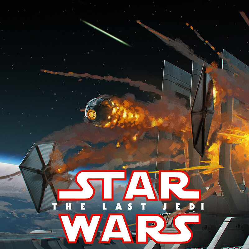 Star Wars : The Last Jedi - Dreadnought detail design