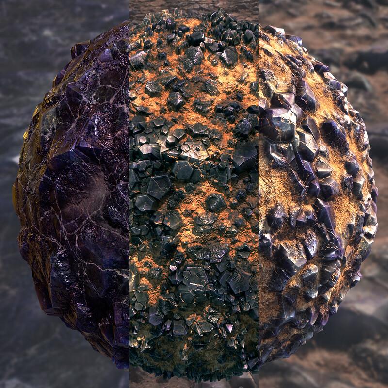 Scattered Crystals Substance