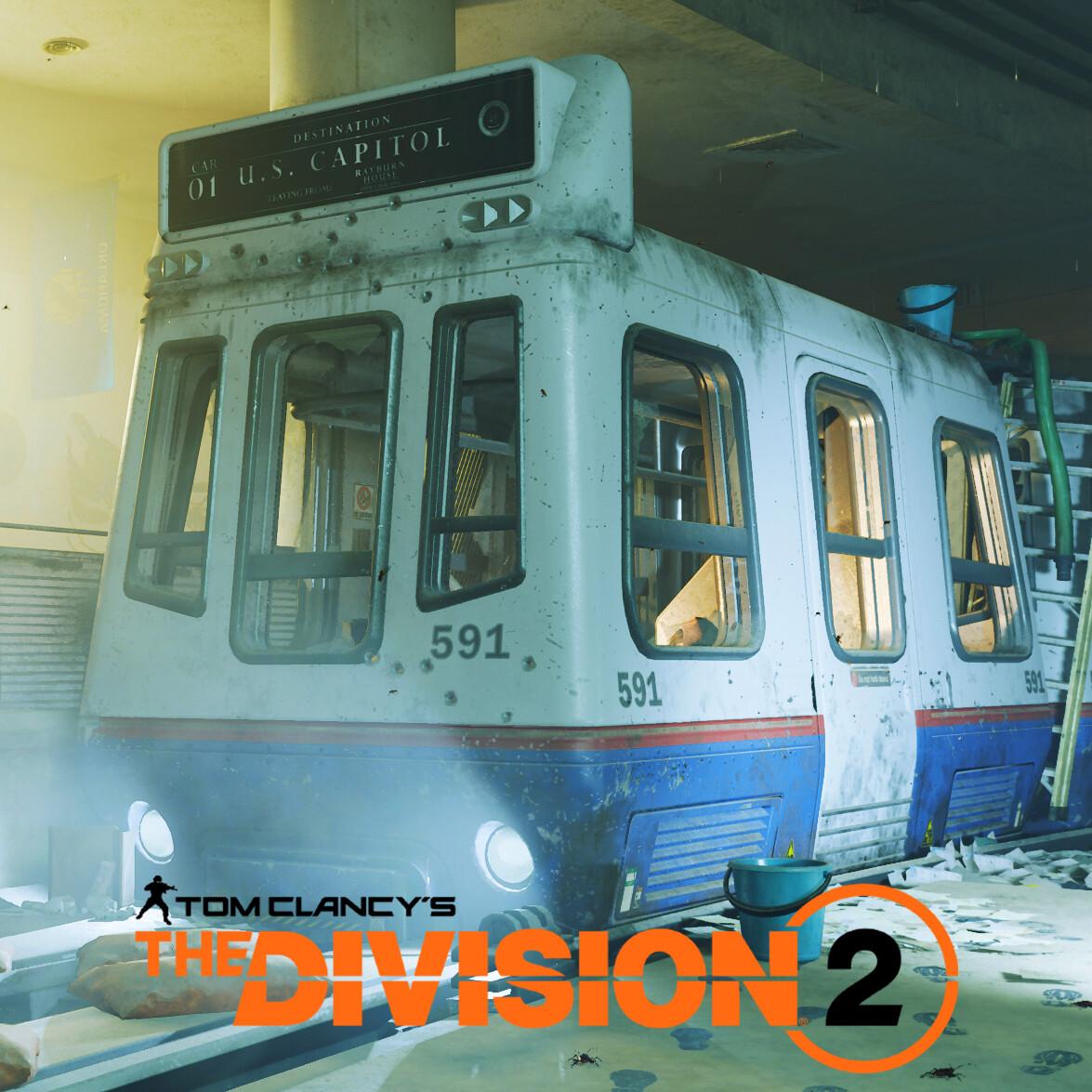 Tom Clancy's Division 2 Capitol Subway Car