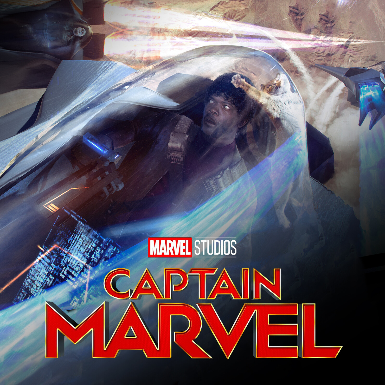 CAPTAIN MARVEL: Kree Pod Chase