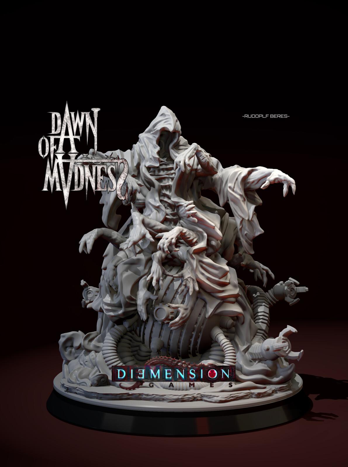 Dawn of Madness Statue volume_1