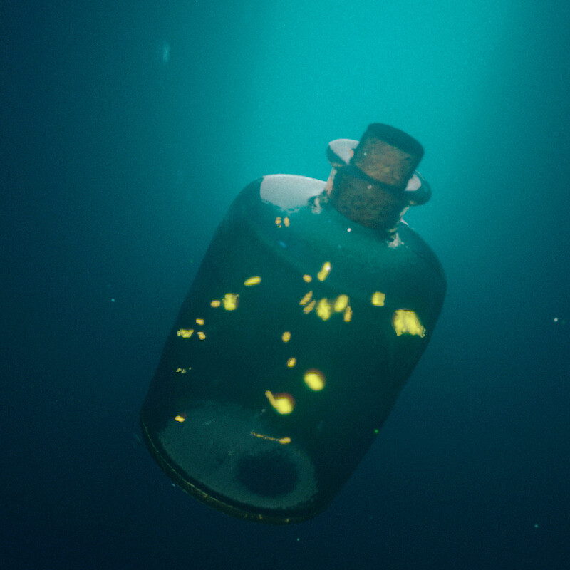 The Jar with Fireflies - Underwater VFX