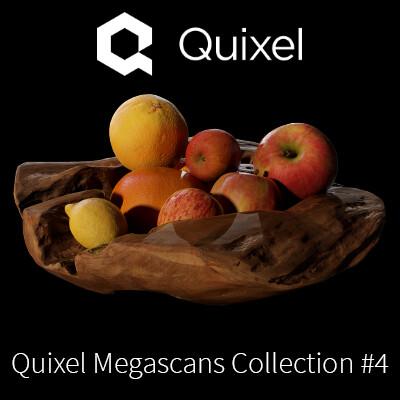 Quixel Megascans Fruits