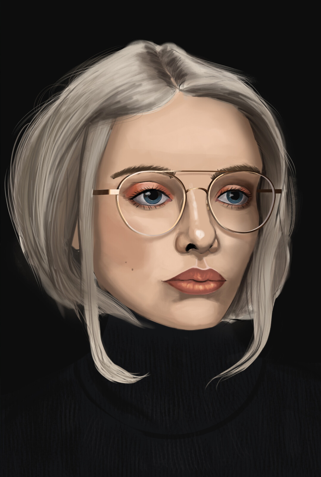 Study Portrait Woman