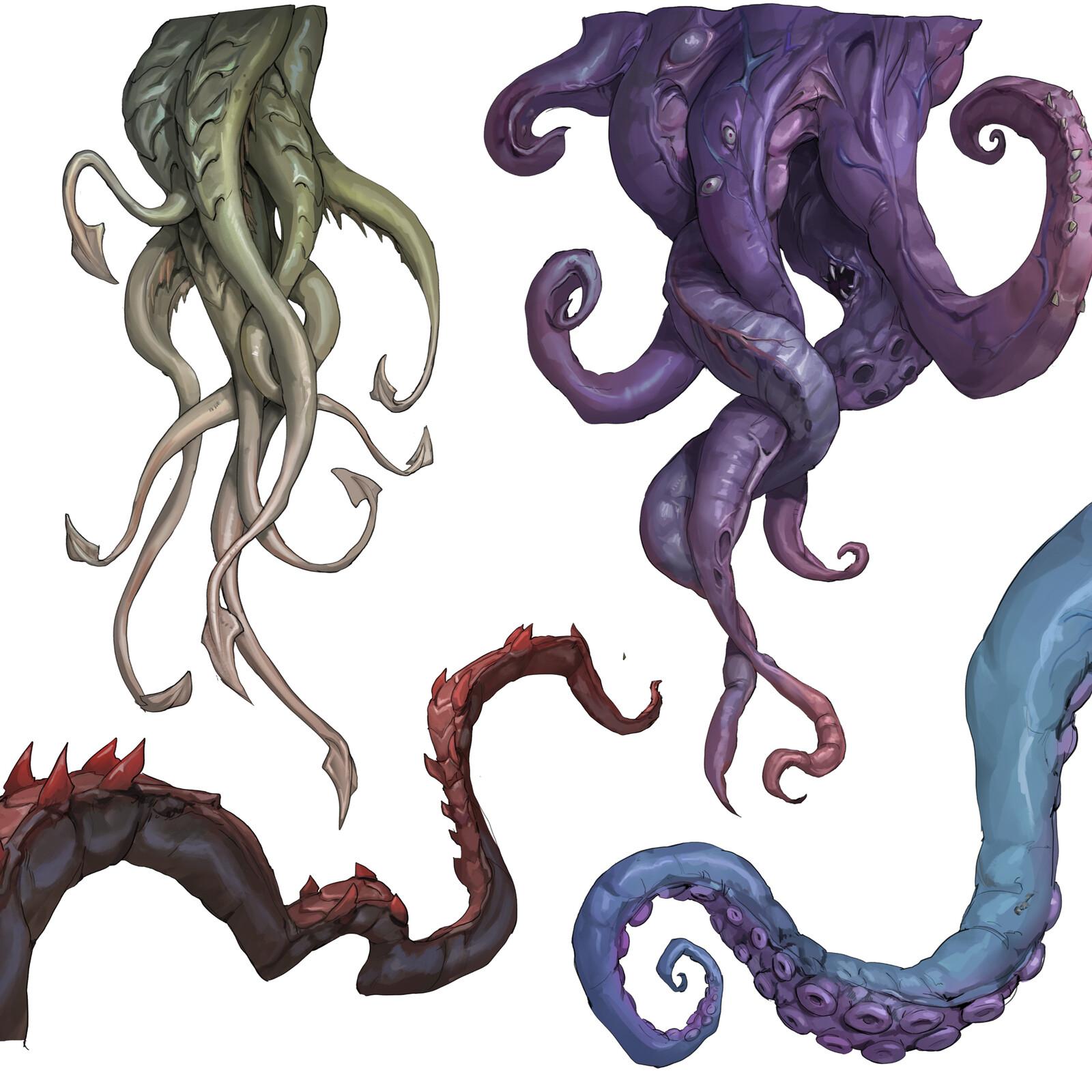 Insomnia | Clutter, tentacles, violin