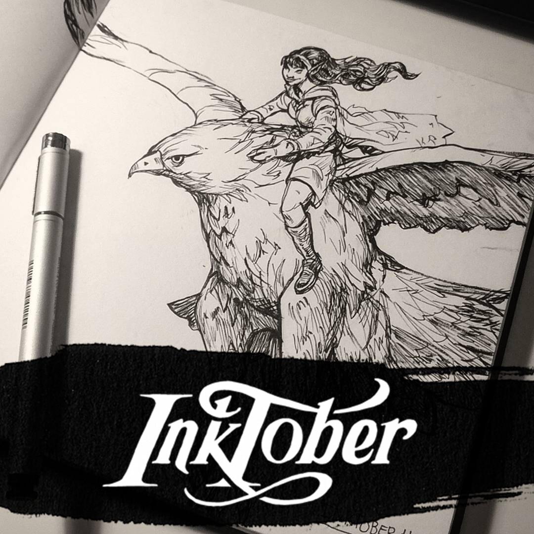 Inktober 2017: Week 1