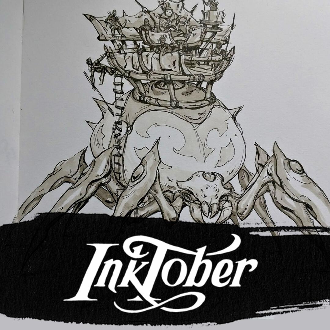 Inktober 2017: Week 2