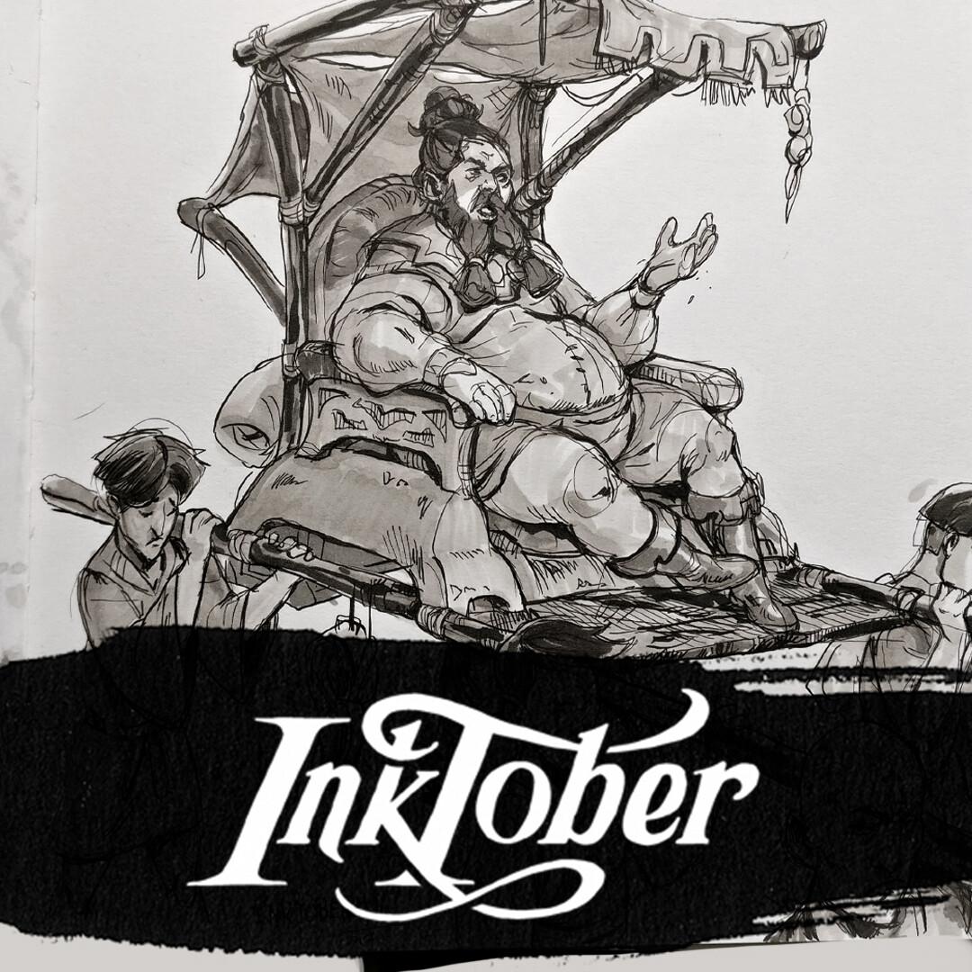 Inktober 2017! Week 3