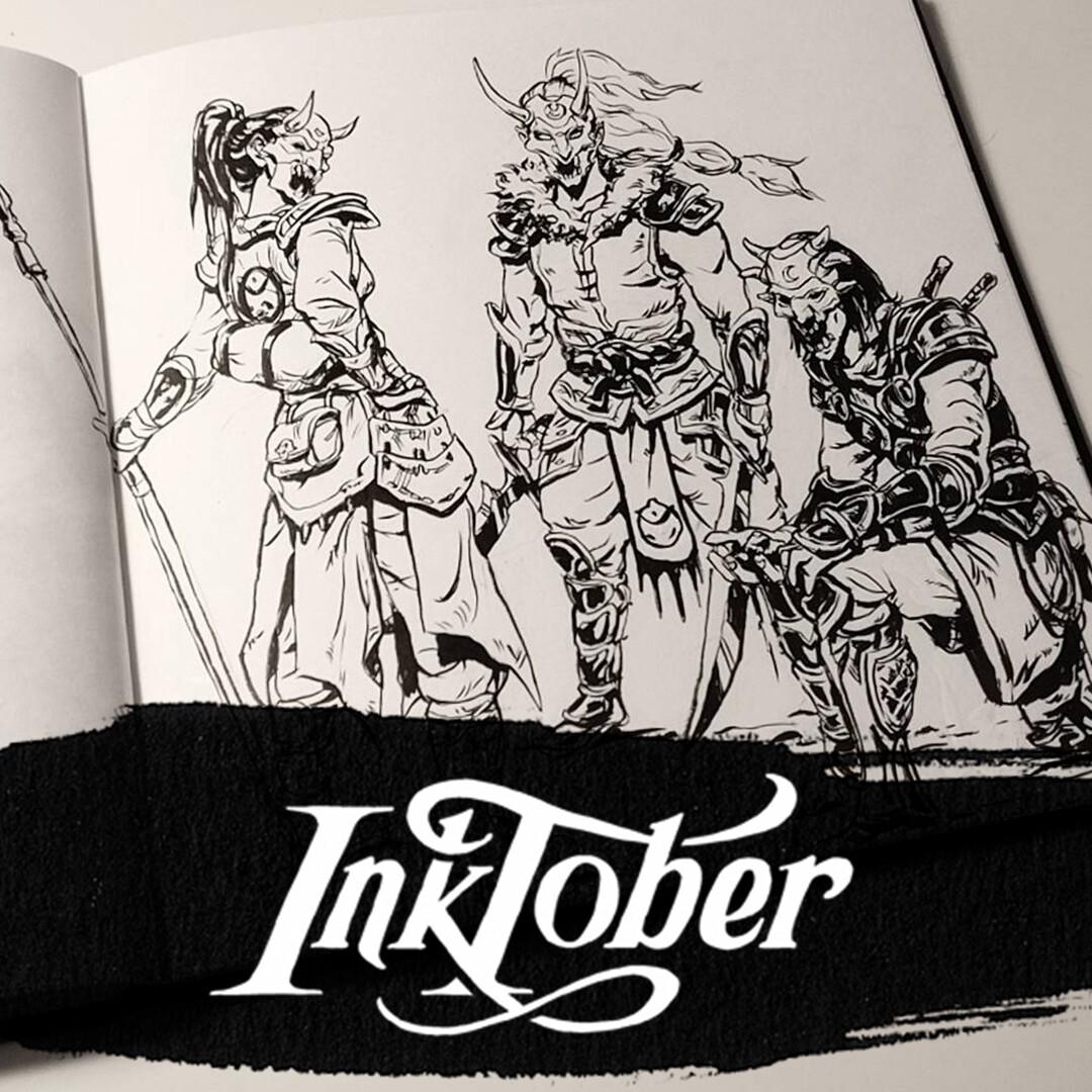 Inktober 2017: Week 4